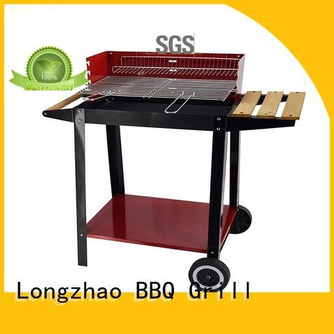 colorful portable charcoal bbq grills high quality for outdoor cooking