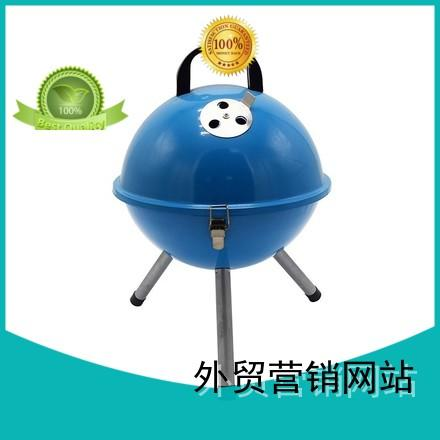 Wholesale cooking trolley best charcoal grill Longzhao BBQ Brand