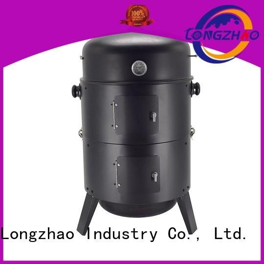 Hot bbq gas barbecue bbq grill 4+1 burner round Longzhao BBQ Brand