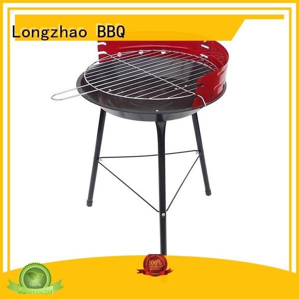 Longzhao BBQ unique stainless charcoal grills factory direct supply for outdoor cooking
