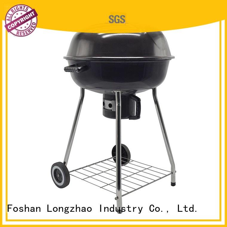 smoker steel surface wood Longzhao BBQ Brand best charcoal grill supplier
