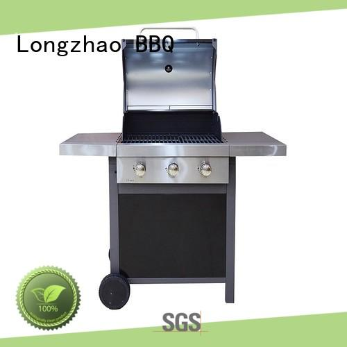 burners cast iron gas grill for cooking Longzhao BBQ