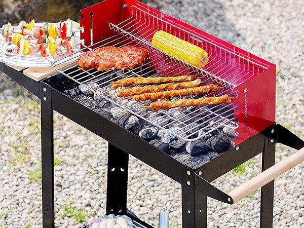 Longzhao BBQ simple structure professional charcoal grill bulk supply for outdoor bbq-3