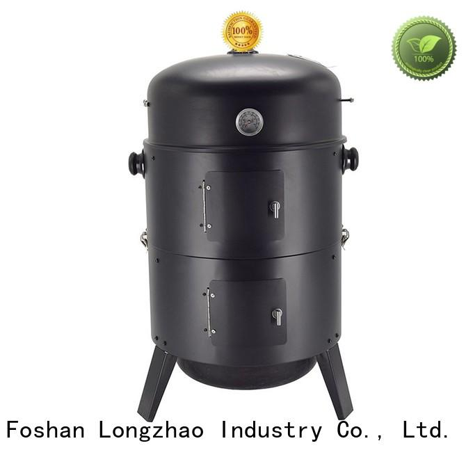 Longzhao BBQ stainless charcoal grills high quality for camping