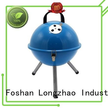 metal stove round Longzhao BBQ Brand best charcoal grill