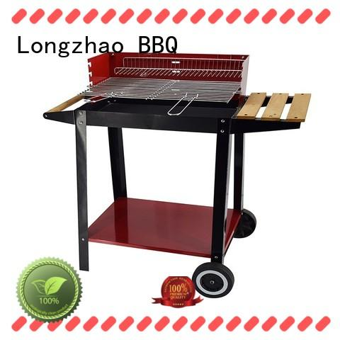 Longzhao BBQ unique heavy duty bbq grill stove for camping