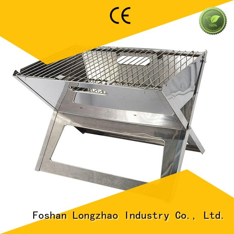portable barbecue grill pit for outdoor cooking Longzhao BBQ