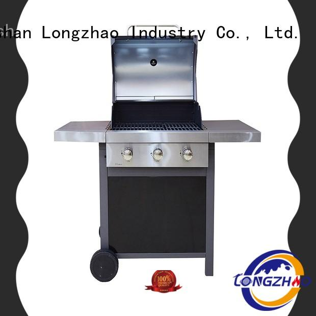 Longzhao BBQ outdoor cheap gas grills cart for cooking