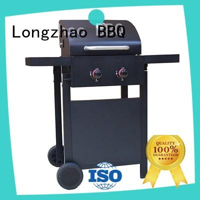 outdoor propane gas grill hood for garden grilling