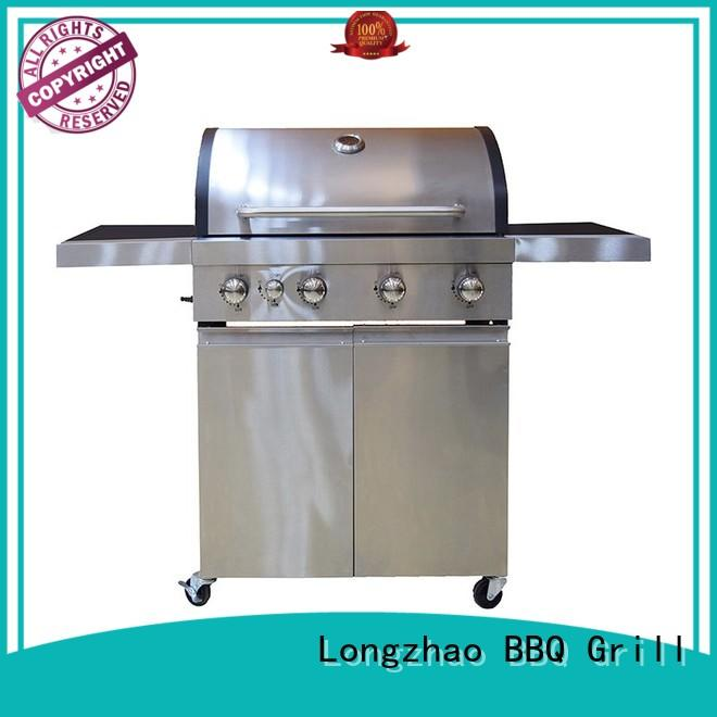 outdoor expert 3 burner gas grill plancha for cooking