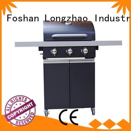 2 burner gas grill portable black liquid Warranty Longzhao BBQ