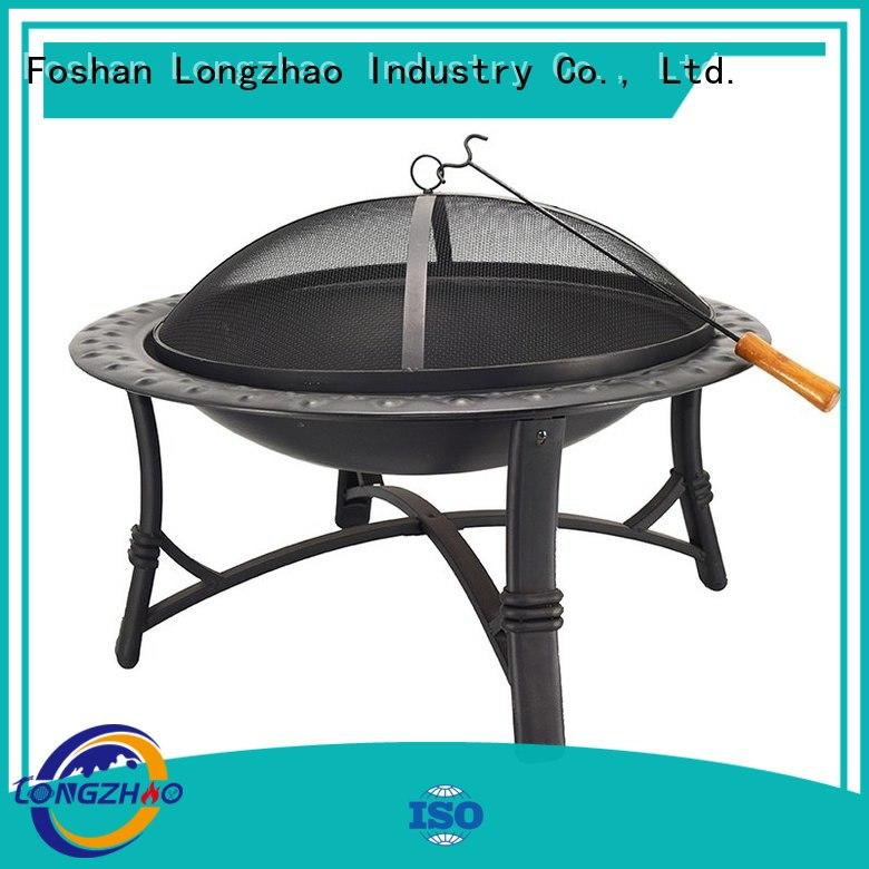 Longzhao BBQ garden best charcoal grill table for outdoor cooking