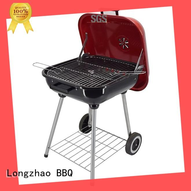 steel portable barbecue grill burning for barbecue Longzhao BBQ
