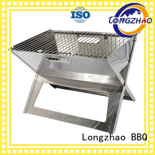 Quality Longzhao BBQ Brand gas barbecue bbq grill 4+1 burner red