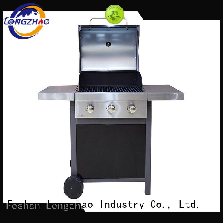 stainless cast Longzhao BBQ Brand liquid gas grill