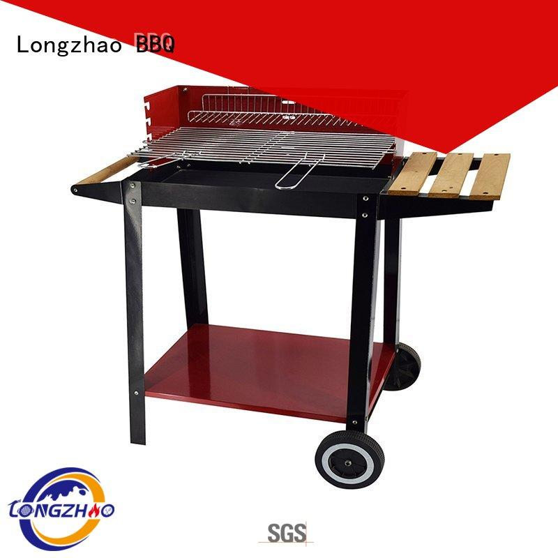 Hot gas barbecue bbq grill 4+1 burner moving Longzhao BBQ Brand