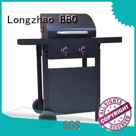 stainless steel best gas bbq half for garden grilling