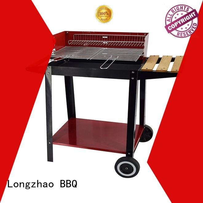 Longzhao BBQ rectangular small charcoal grill high quality for camping
