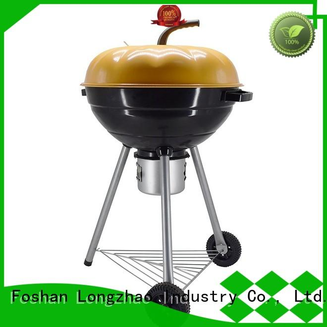 round metal fire pits fire for outdoor bbq Longzhao BBQ