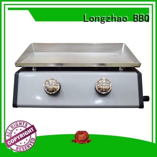 propane iron outdoor side Longzhao BBQ Brand best gas bbq supplier