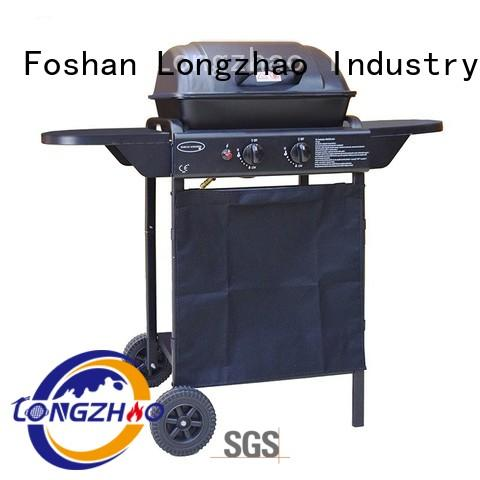 gas barbecue bbq grill 4+1 burner plate low price liquid gas grill burners Longzhao BBQ Brand