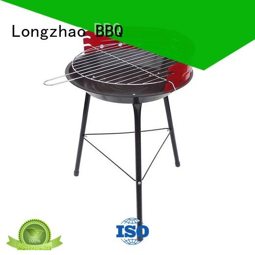 Longzhao BBQ steel barbecue smoker supply table for outdoor bbq