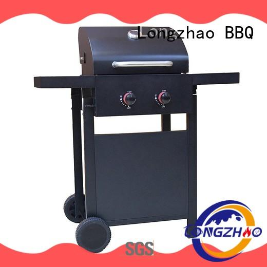 Longzhao BBQ large storage best gas bbq propane for garden grilling