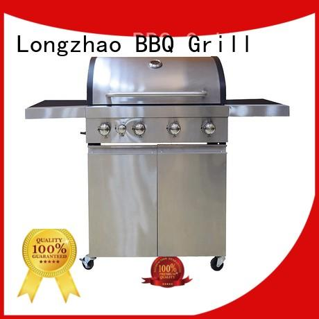 Longzhao BBQ portable propane outdoor grill fast delivery for garden grilling