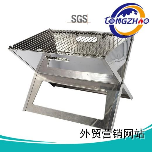 Custom professional ball best charcoal grill Longzhao BBQ eco-friendly