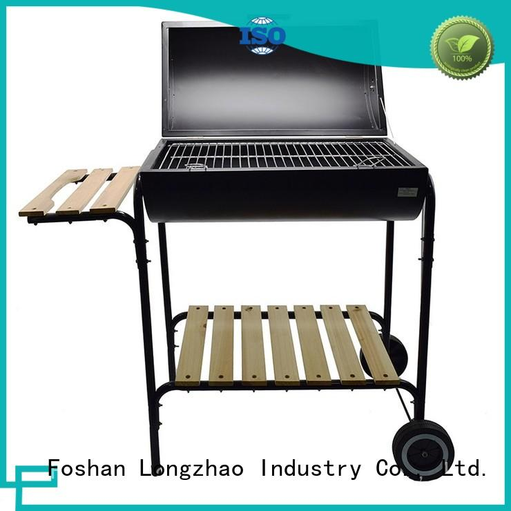 Longzhao BBQ wood best bbq grill at discount for outdoor bbq