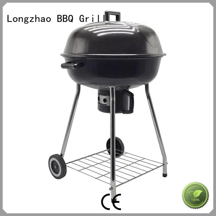 Longzhao BBQ instant round charcoal grill bulk supply for camping