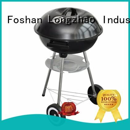 Longzhao BBQ smoker rectangular charcoal bbq grill barrel for camping