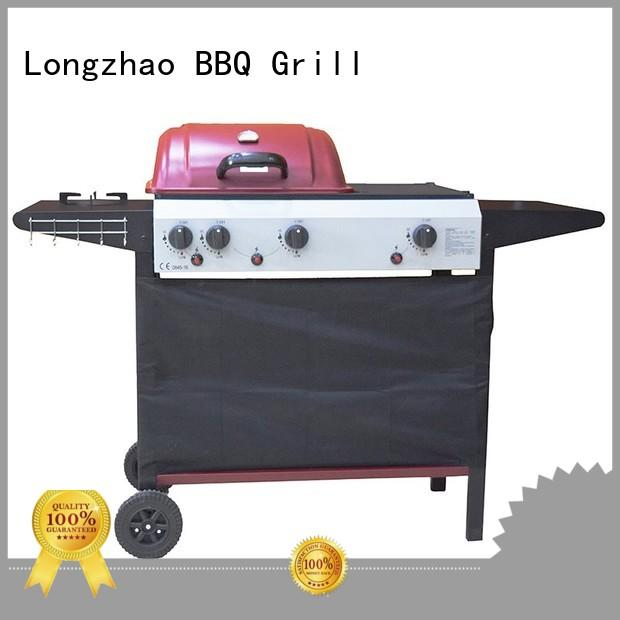 Longzhao BBQ natural gas outdoor grills easy-operation for cooking