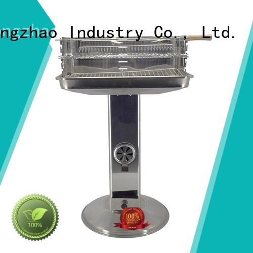 Longzhao BBQ black garden 3 in 1 bbq barbecue smoker grill barren for barbecue