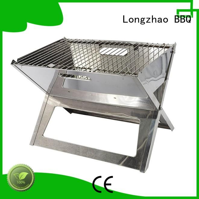 Longzhao BBQ large professional charcoal grill bulk supply for barbecue