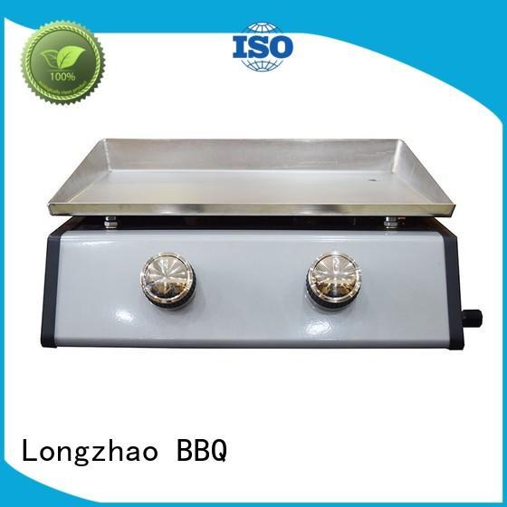 outdoor Custom cast burner best gas bbq Longzhao BBQ tables