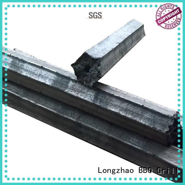 hexagonal bbq charcoal sawdust for cooking Longzhao BBQ