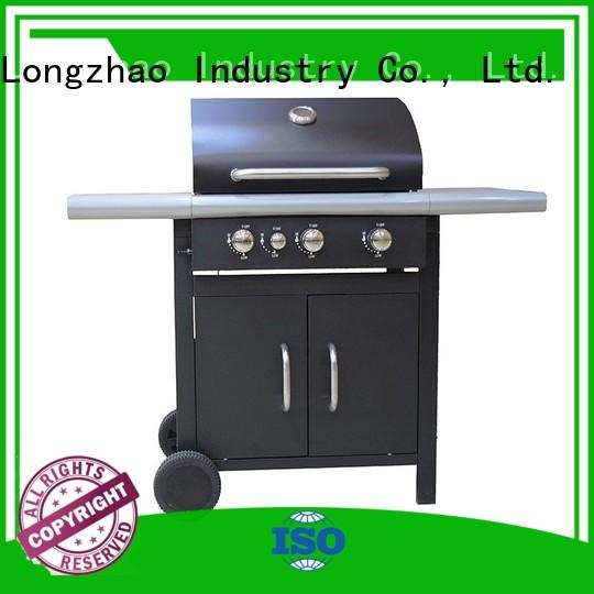 Longzhao BBQ Brand griddle low price 2 burner gas grill butane