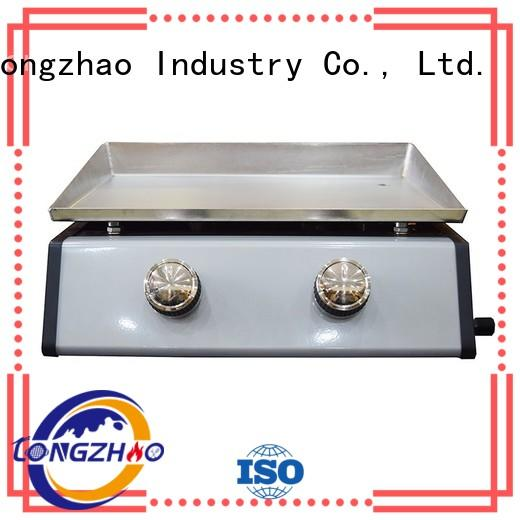 gas barbecue bbq grill 4+1 burner steel wholesale cooking Longzhao BBQ Brand liquid gas grill