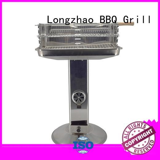 Longzhao BBQ charcoal bbq smoker bulk supply for outdoor bbq