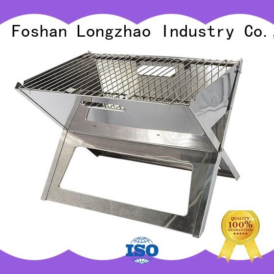 Stainless Steel Outdoor Charcoal BBQ Grill for Camping