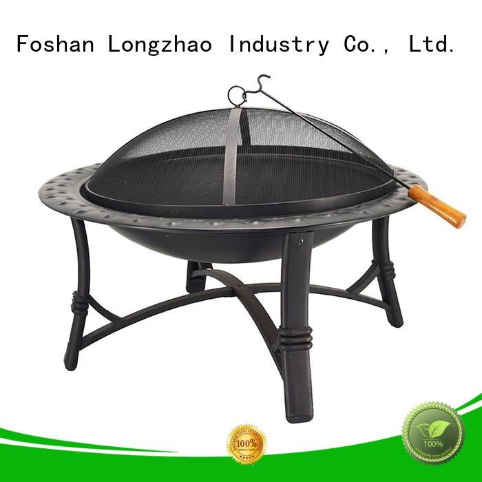 Longzhao BBQ light-weight heavy duty charcoal bbq grill steel for camping
