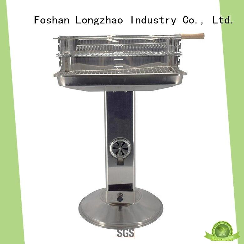 small charcoal grill bulk supply for camping Longzhao BBQ