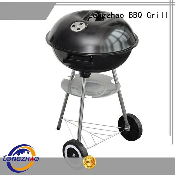 Longzhao BBQ large stainless charcoal grills factory direct supply for outdoor cooking