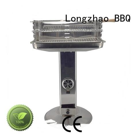 Longzhao BBQ large portable barbecue grill trolley for barbecue