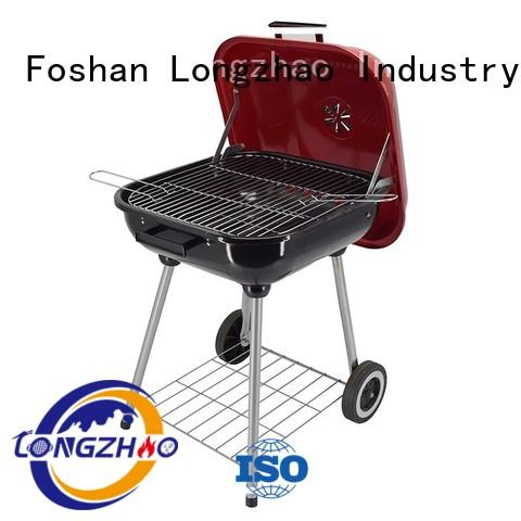 steel best charcoal grill surface barrel Longzhao BBQ company