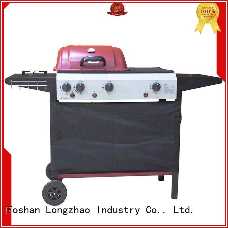 Longzhao BBQ folding the best 3 burner gas grill patio for garden grilling