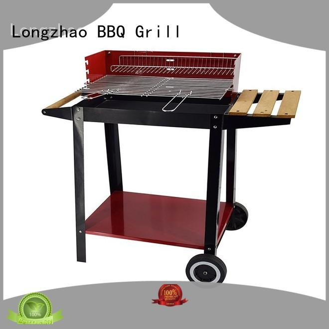 Longzhao BBQ simple structure professional charcoal grill bulk supply for outdoor bbq