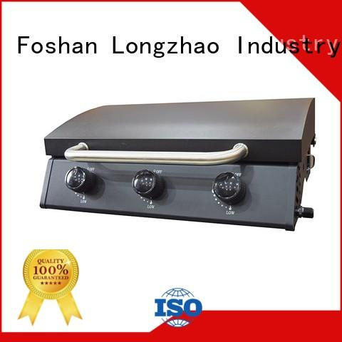 propane tabletop gas grill best griddle for cooking Longzhao BBQ