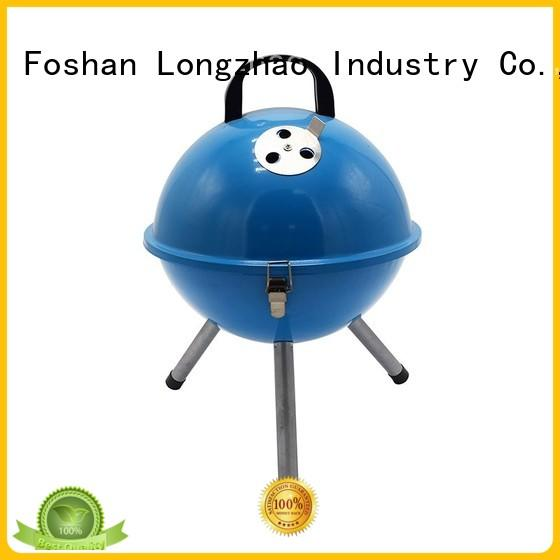 Longzhao BBQ heavy duty small charcoal grill factory direct supply for outdoor cooking